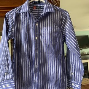 Chaps collared button down dress shirt
